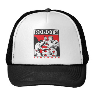 Robot sets you free trucker hat