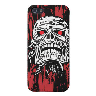 Robot Skull iPhone 5/5S Covers