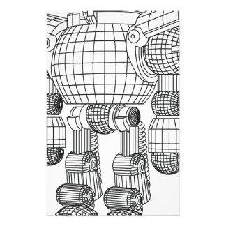 robot stationery