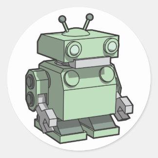 Robot sticker large