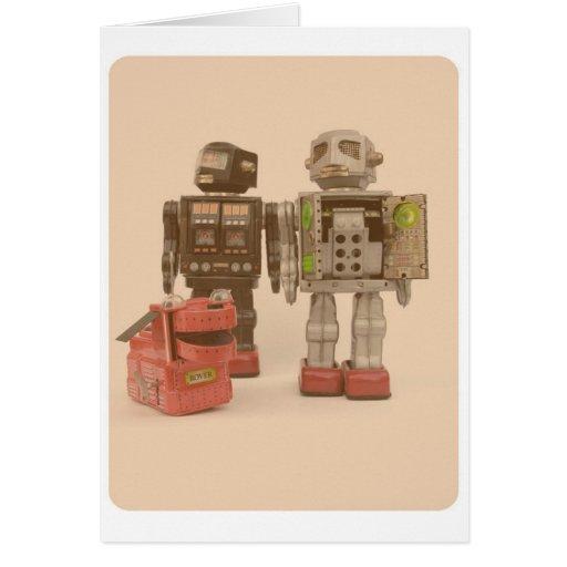 Robot Suburbia Card