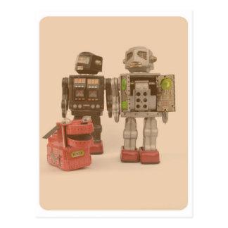 Robot Suburbia Postcard