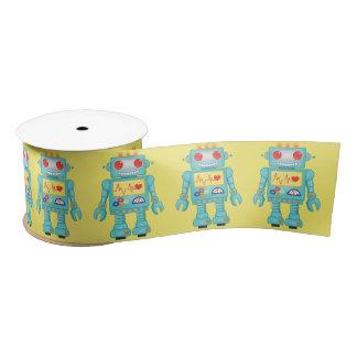 Robot Theme Party Satin Ribbon
