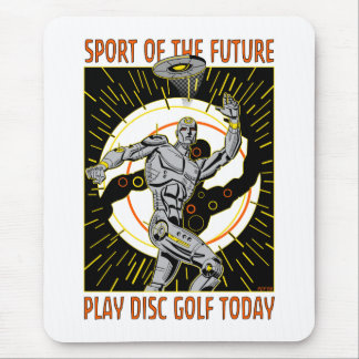 Robot Thrower #1 Mouse Pad