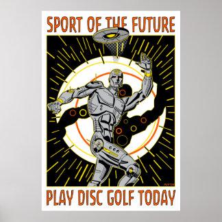Robot Thrower #1 Poster