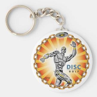Robot Thrower #2 Keychain
