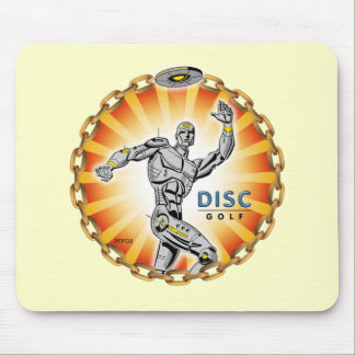 Robot Thrower #2 Mouse Pad