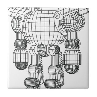 robot tile