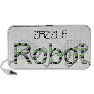 ROBOT TRAVELLING SPEAKER