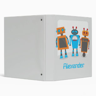 Robot Trio Binder