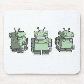 Robot Trio mousepad