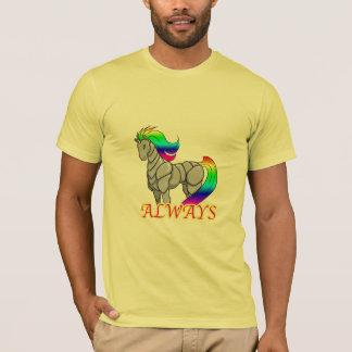Robot Unicorn Attack t-shirt