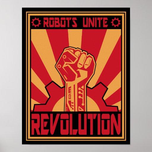 Robot Uprising Poster