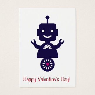 Robot Valentine - Scooter Business Card