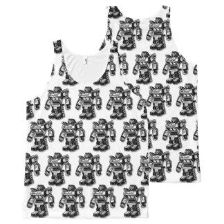 Robot warrior All-Over-Print tank top