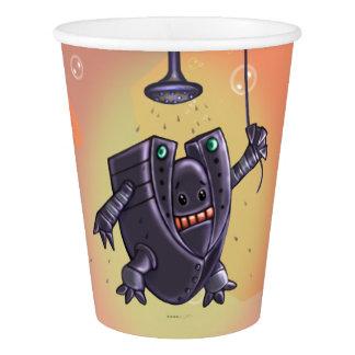 ROBOT WASH ALIEN  Paper Cup, 9 oz Paper Cup