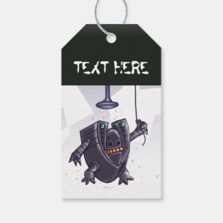 ROBOT WASH CUTE CARTOON  GIFT TAG PACK OF GIFT TAGS
