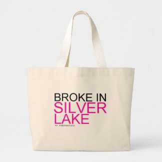 "ROBOTANISTS ""Broke in Silver Lake"" Shopping Bag"
