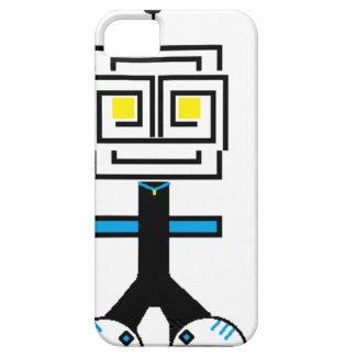 ROBOTIC CARTOON A iPhone 5 COVER