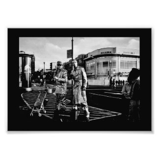 Robotic Men Photo Print