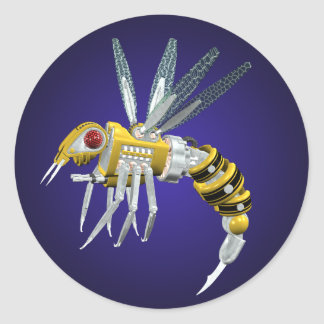Robotic Wasp Sticker