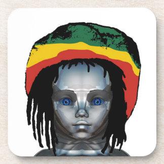 Robotics Rastafarian Coaster