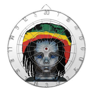 Robotics Rastafarian Dartboard