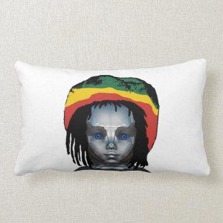 Robotics Rastafarian Lumbar Pillow