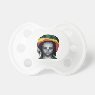 Robotics Rastafarian Pacifier