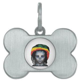 Robotics Rastafarian Pet ID Tag