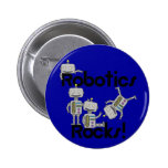 Robotics Rocks 2 Inch Round Button