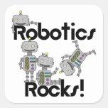 Robotics Rocks Stickers