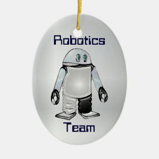 Robotics Team or Club Personalized Ornament