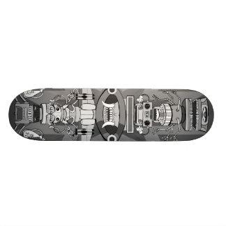 Robototem: Invasion Custom Skate Board
