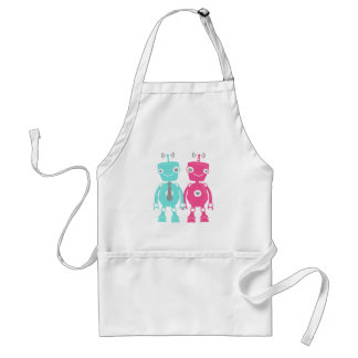 Robots in Love Standard Apron