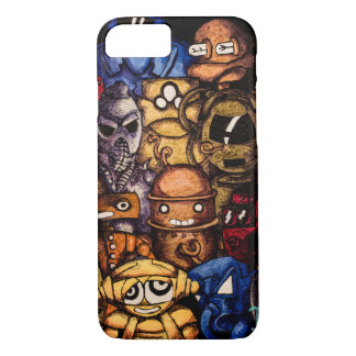 Robots in the Closet iPhone 8/7 Case