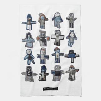 ROBOTS KITCHEN TOWEL