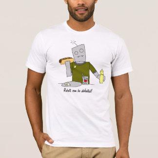 Robots love hot dogs! T-Shirt
