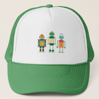 Robots on your head! Unique and catchy! Trucker Hat