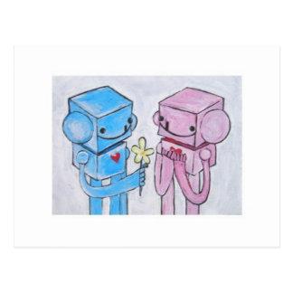 Robots.. Postcard