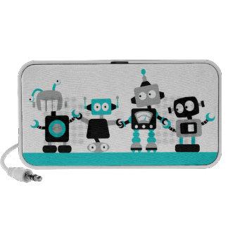 Robots - rose haut-parleurs