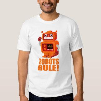 ROBOTS RULE! TSHIRT