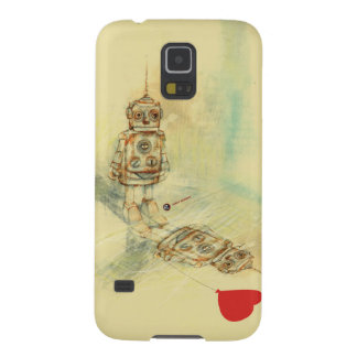 Robots & Sentiments Galaxy S5 Covers