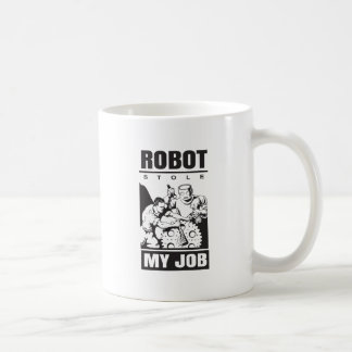 robots stole my job coffee mug