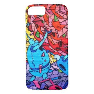 Robots Street Art iPhone 7 Case