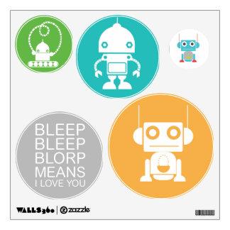 Robots Wall Decal - Robots Nursery Decor