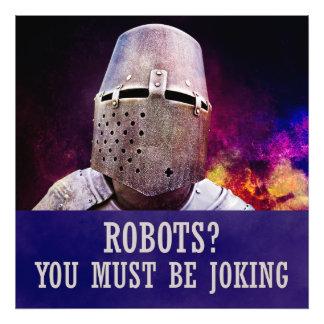 Robots? You must be joking Photo Art