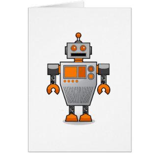 robottattoobro copy jpg greeting card