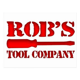 Rob's Tool Company Postcard