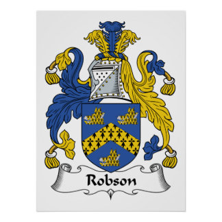 Robson Family Crest Poster